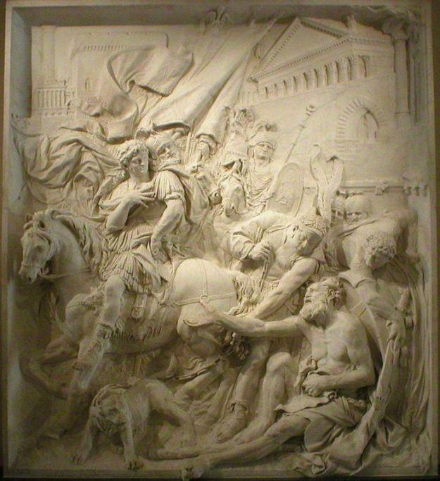 Puget_-_Diogenes_Alexander_Louvre